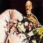 Franziska Maderthaner * Wien 1962 geb. Wolfgang Öl auf Leinwand 120 x 120 cm 2003 rückseitig