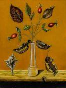 Eduard Klell Steyr 1924 - 2008 Wien Stilleben Öl auf Karton 20 x 15,2 cm 1983 rechts unten