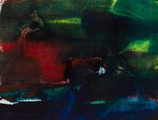 Herbert Brandl Graz 1959 geb. Ohne Titel Tusche auf Papier 46 x 60 cm 2016 links unten signiert