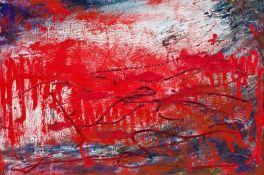 Herbert Brandl Graz 1959 geb. Ohne Titel Öl auf Leinwand 40 x 60 cm 2005-2011 rückseitig signiert