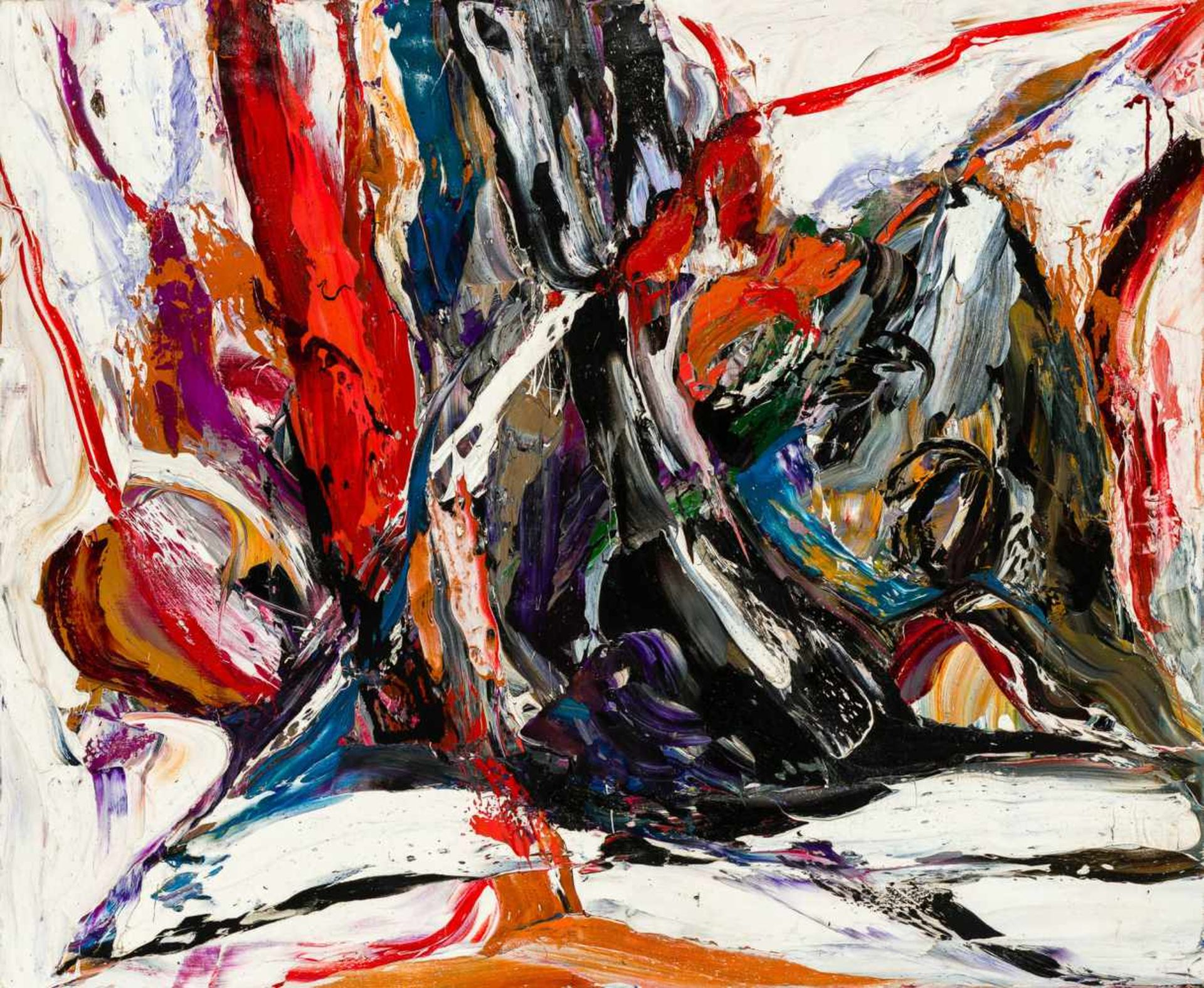 Los 23 - Ruth Francken Prag 1924 - 2006 Paris La Petite Souche Öl auf Leinwand 84 x 102 cm 1957 rechts
