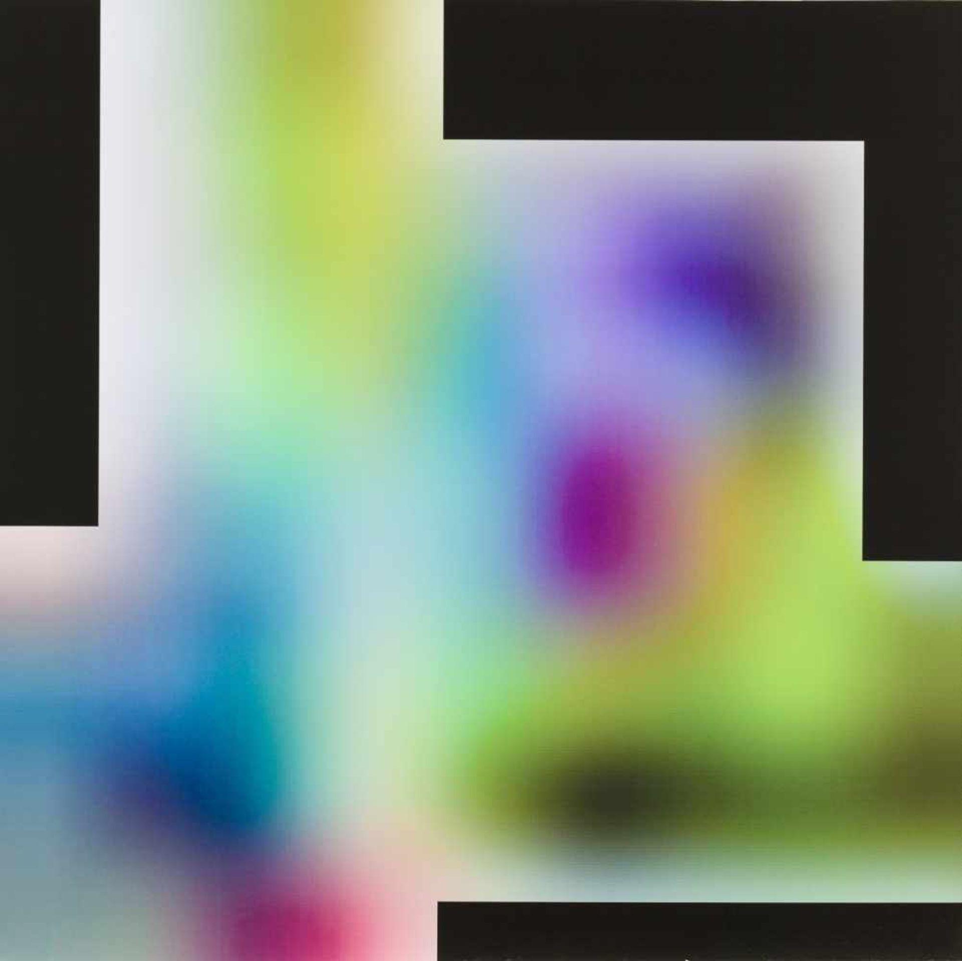 Los 43 - Thomas Baumann Altenmarkt 1967 geb. Ohne Titel (Diptychon) Digitaldruck auf Aluminium und Öl auf