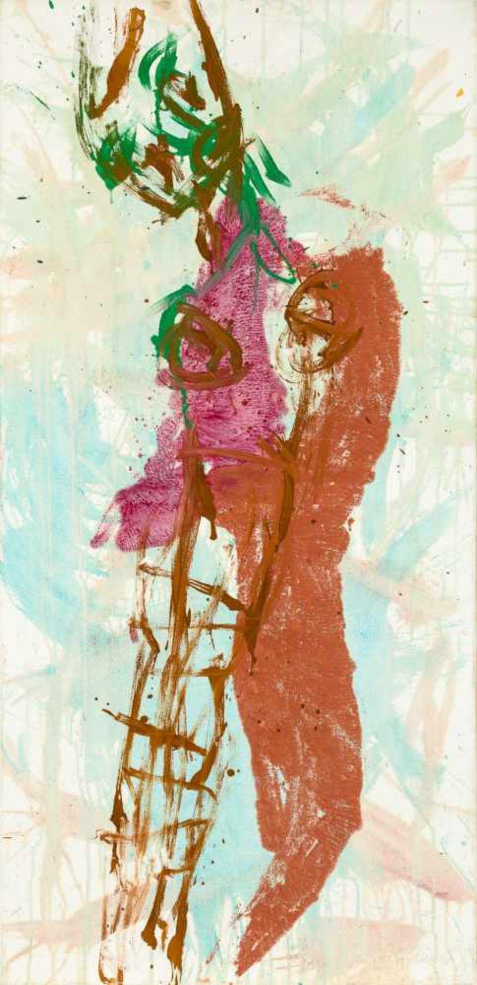Los 35 - Wolfgang Walkensteiner Klagenfurt 1949 geb. Ohne Titel (Weiblicher Akt) Öl auf Leinwand 145 x 70
