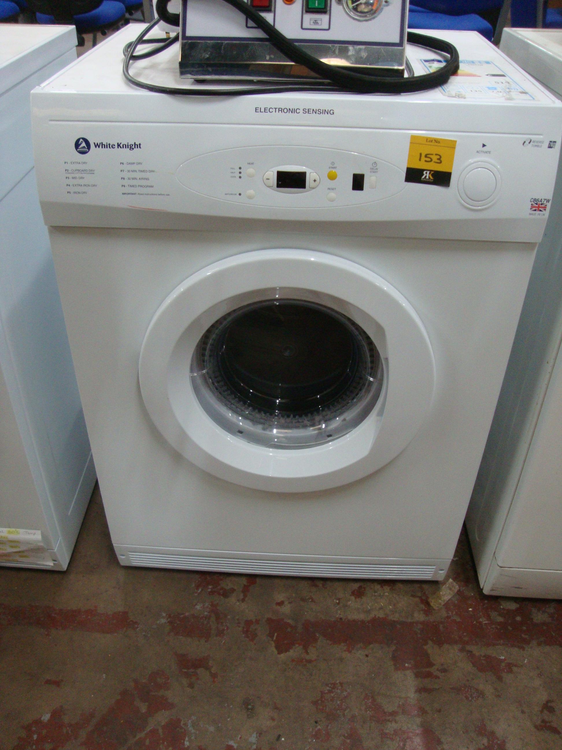 Tumble Dryers Espanol ~ White knight electronic sensing kg tumble dryer model