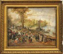 Brueghel, Jan d. Ä. - Nachfolger des 18. Jahrhunderts Fischmarkt (Brüssel 1568-1625 Antwerpen)