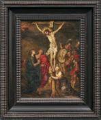 Francken, Frans II. - Kreis des Kreuzigung Christi (Antwerpen 1581-1642 ebd.) Golgothadarstellung