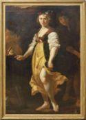 Thulden, Theodor van (Attrib.) Spiel mit dem Feuer ('s-Hertogenbosch 1606-1669 ebd.) Blütengekränzte