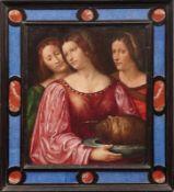 Romanino, Girolamo (Attrib.) Salome mit dem Haupt Johannes des Täufers (Brescia um 1485-1566 ebd.)