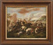 Graziani, Francesco (gen. Ciccio Napoletano) (Attrib.) Reiterschlacht (Aktiv in Neapel und Rom 2. H.