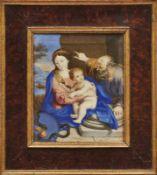 Salvi, Giovanni Battista - Kopie des 18. Jh. nach Sassoferrato Die heilige Familie Mit Blick in