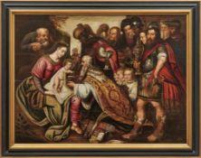Francken, Frans - Umkreis Anbetung des Jesuskindes durch die Heiligen Drei Könige (Antwerpen 1581-