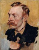 Peter von Krafft, Bildnis August von Krafft (Vater des Künstlers). Wohl Spätes 19. Jh. Öl auf
