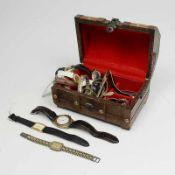 Konvolut - Armbanduhren ca.18 St., Damen- u. Herrenarbanduhren, Royal, Adec, Zentra u.a., tlw.