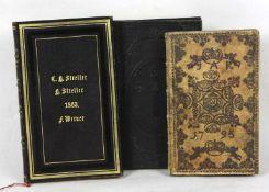 Andachtsbuch von 1794 u.a. Der mit rechtschaffenem Hertzen Zu seinem Jesu sich nahende Sünder, In