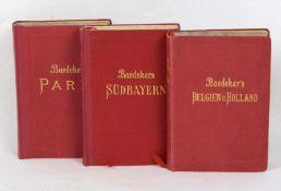 Baedeker Belgien und Holland u.a. nebst dem *Großherzogthum Luxemburg* mit 16 Karten, 27 Plänen u.