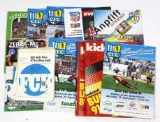 Posten Fußball Zeitschriften Chemnitz dabei 5 Zeitschriften *CFC- Die Himmelblauen*, Ausg. 101,
