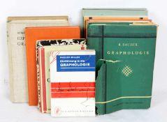10 Bücher Graphologie mit Philipp Miller *Einführung in die Graphologie*, Ludwig Klages *