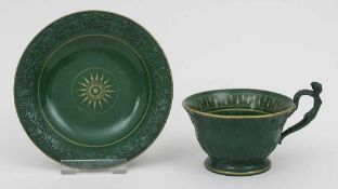 Empire Tasse und Untertasse / A cup and saucer, Dagoty et Honoré, Paris, um 1810 Material: