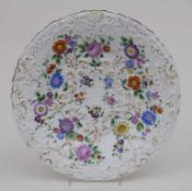 Prunkschale mit bunten Blumen / A magnificent bowl with flowers, Meissen, um 1830 Material: