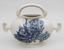 Wasserkrug / An ewer, Luneville, um 1900 Material: Keramik,Marke: blaue Manufakturmarke,Dekor: