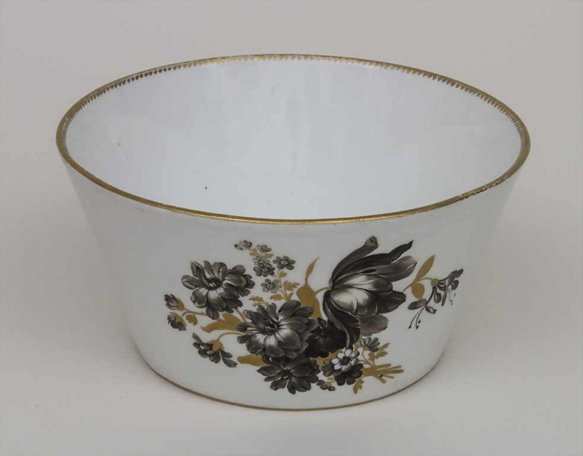 Schale mit Blumenbouquets / A bowl with bouquets of flowers, Meissen, um 1774-1814 Material: - Bild 2 aus 4