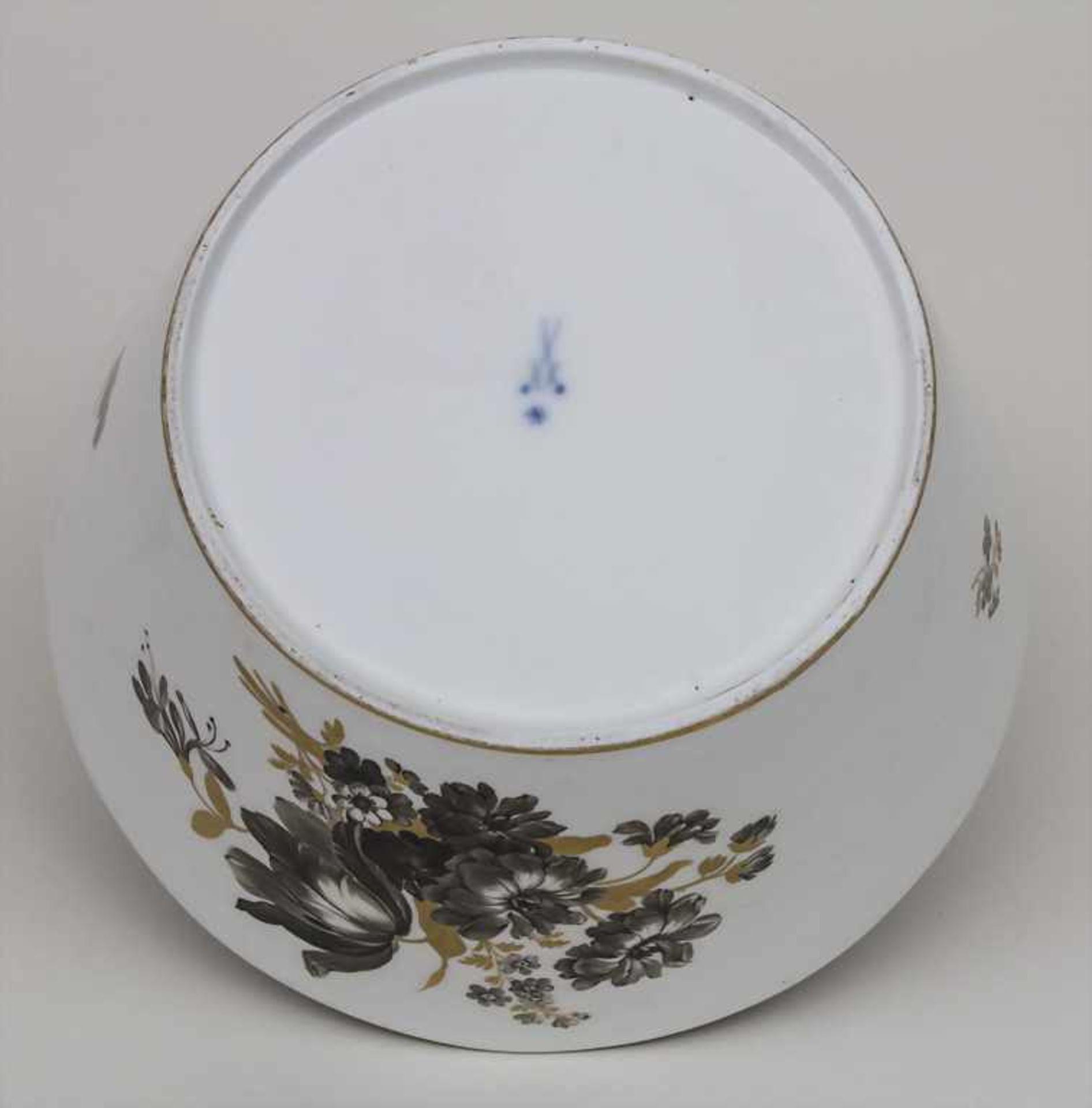 Schale mit Blumenbouquets / A bowl with bouquets of flowers, Meissen, um 1774-1814 Material: - Bild 4 aus 4