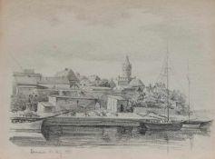 Unbekannt (Pommerscher Maler und Zeichner d. 19. Jh.) Cammin/ Pommern (Kamien Pomorski)