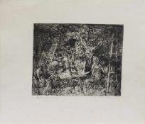 Herrmann Schepler (Neu Karstädt 1911 - 1985 Techentint, deutscher Maler, Zeichner u. Grafiker,