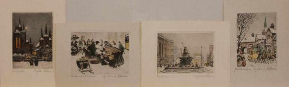 K. Ballmann (deutscher Maler und Grafiker der 1. Hälfte d. 20. Jh., lebte u. arbeitete in Berlin)