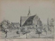Unbekannt (Pommerscher Maler und Zeichner d. 19. Jh.) Kloster Colbatz (Opactwo cystersów w Kolbaczu)