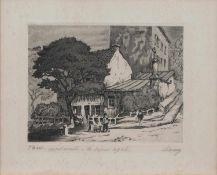 Maurice La Bany (zugeschr.) (französischer Maler u. Grafiker d. 1. Hälfte d. 20. Jh.)Paris -