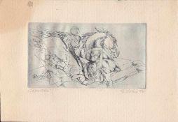 Eberhard Löbel (Greifenhagen 1938 -, deutscher Maler u. Grafiker, Std. a.d. HS für Grafik u.