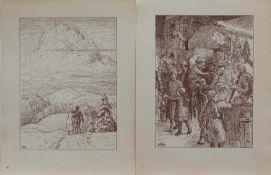 Otto Heinrich Engel (Erbach 1866 - 1949 Glücksburg, deutscher Landschaftsmaler, Wegbereiter d.