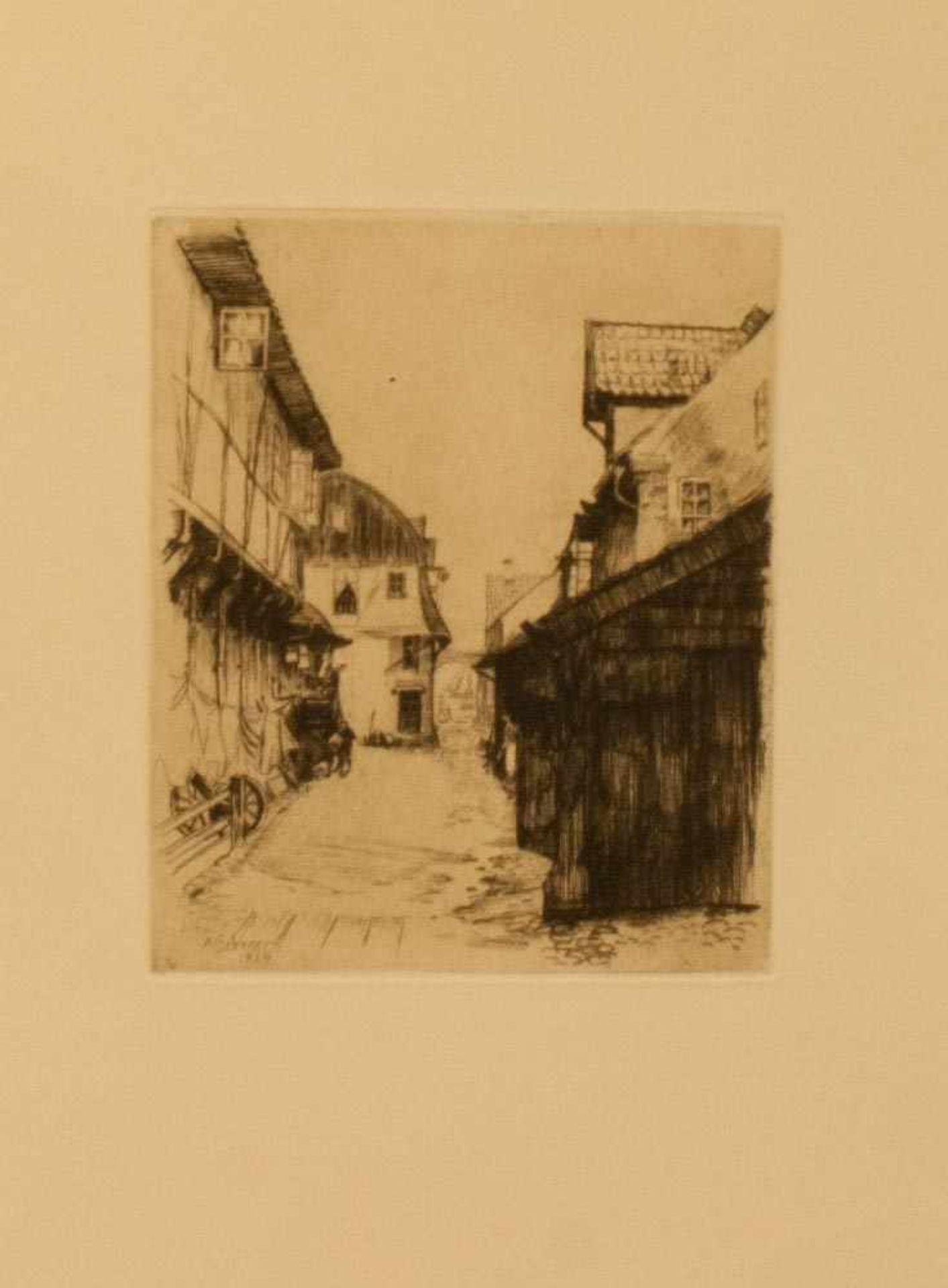 Alexander Eckener (Flensburg 1870 - 1944 Abtsgmünd, deutscher Maler u. Grafiker, Std. a.d. AK