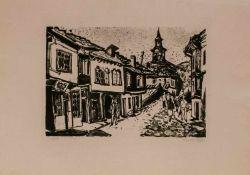 Erhard Hippold (Wilkau-Haßlau 1909 - 1972 Gottleuba, deutscher Maler u. Grafiker, Std. a.d.