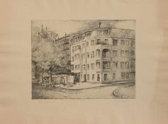 Manfred Hahn (Claußnitz 1933 - , deutscher Maler u. Grafiker, Std. a.d. HS f. Grafik u. Buchkunst