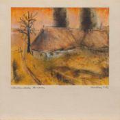 Lothar Kweton (Herausgeber, Maler und Zeichner, lebt u. arbeitet in Schwerin)Bohlenrade
