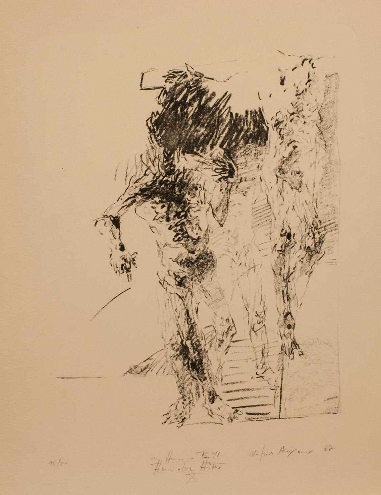 Winfried Alexander (deutscher Maler u. Graphiker, Dozent an d. Kunsthochschule Halle-Burg
