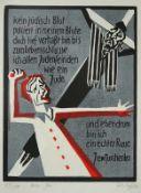 Herbert Sandberg (Posen 1908 - 1991 Berlin, deutscher Grafiker, Illustrator, Karrikaturist u.