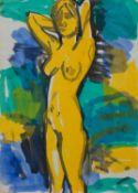 Annegret Goebeler (Lüssow 1943 -, Malerin u. Grafikdesignerin, Std. a. d. FS Heiligendamm,