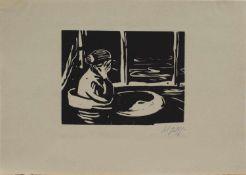Friedrich Karl Gotsch (Pries/ Eckernförde 1900 - 1984 Schleswig, deutscher Maler u. Grafiker, Std.
