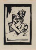 Horst Strempel (Beuthen 1905 - 1975 Berlin, deutscher Maler u. Grafiker, Std. a.d. AK f. Breslau bei