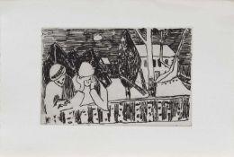 Hans Meyboden (Verden 1901 - 1965 Freiburg, deutscher Maler u. Grafiker, Std. a.d. KA Dresden u.