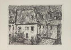 Rudolf Führmann (Hamburg 1909 - 1976 Lüneburg, deutscher Maler, Restaurator u. Grafiker,