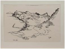Theo Pfeil (Düren/ Rheinland 1903 - ?, deutscher Maler u. Grafiker, zahlreiche Reisen, lebte in