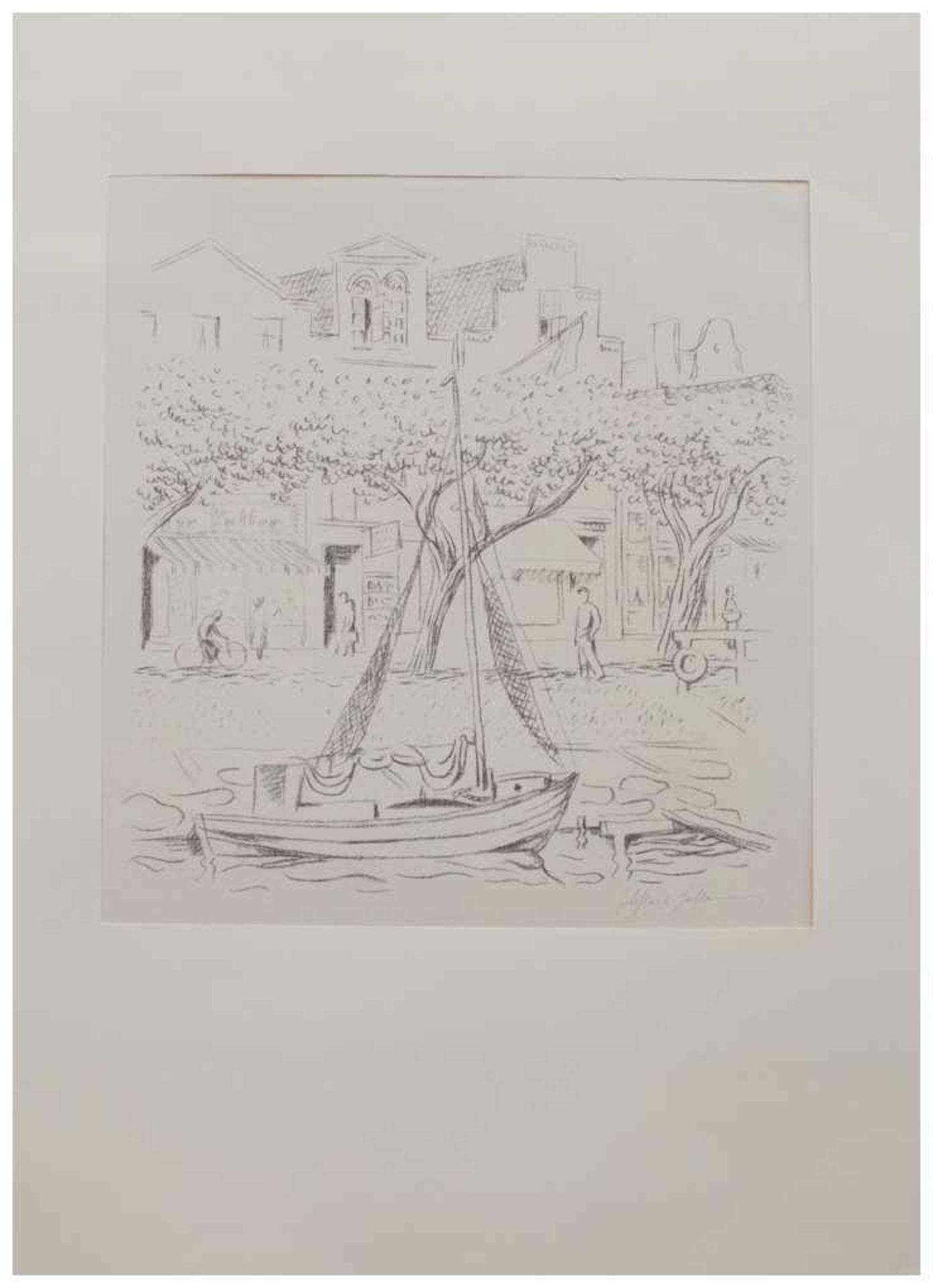 Los 49 - Friedrich Ahlers-Hestermann (Hamburg 1883 - 1973 Berlin, deutscher Maler u. Kunstschriftsteller,