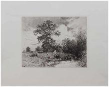 Carl Ernst Morgenstern (München 1847 - 1928 Wolfshau, deutscher Landschaftsmaler u. Radierer,