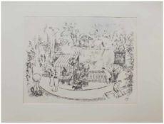 Friedrich Ahlers-Hestermann (Hamburg 1883 - 1973 Berlin, deutscher Maler u. Kunstschriftsteller,