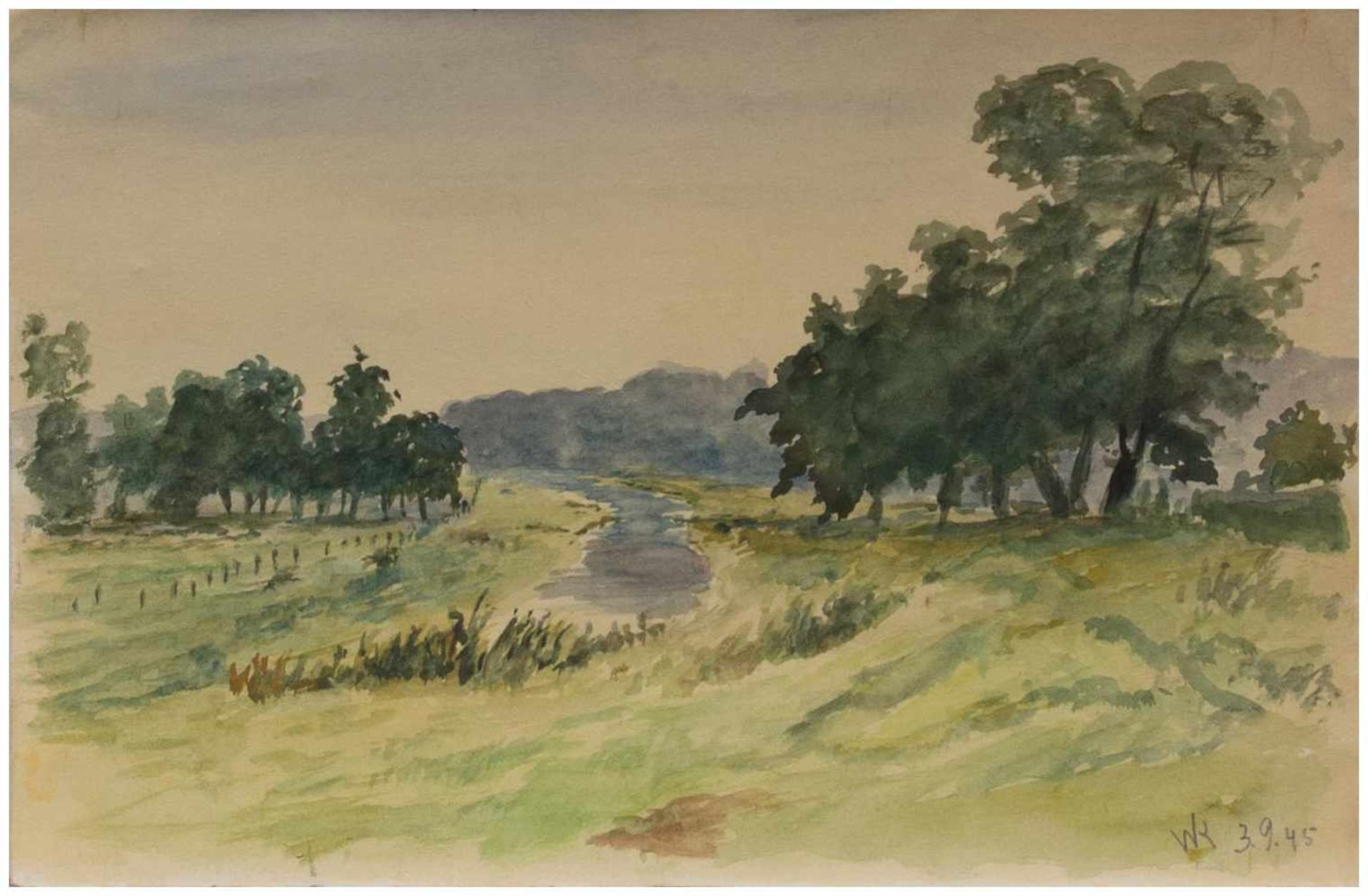 Los 56 - Walter Klemm (Karlsbad/ Österreich-Ungarn 1883 - 1957 Weimar, deutscher Maler, Grafiker u.