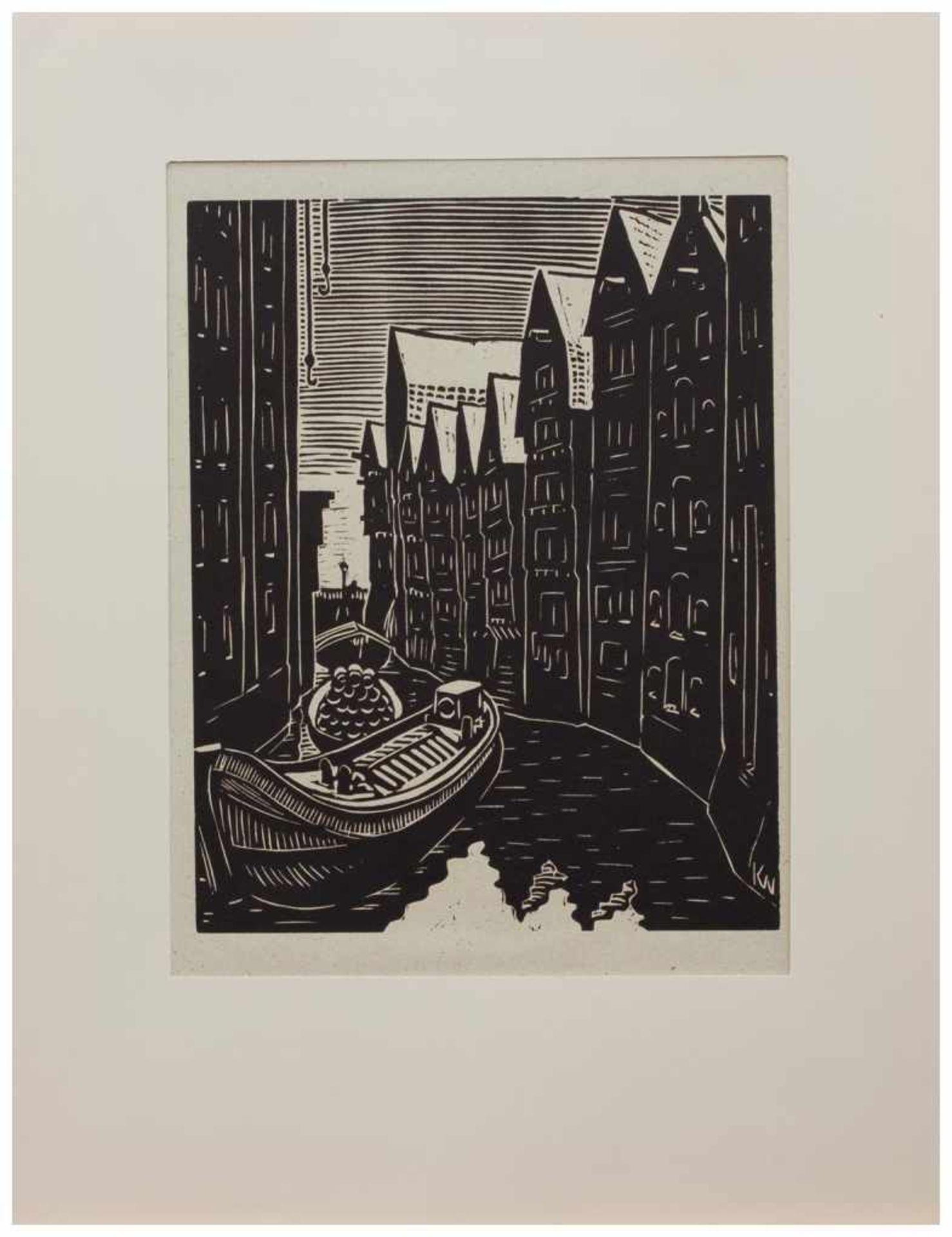 Los 3 - Klaus Wrage (Malente-Gremsmühlen 1891 - 1984 Eutin-Fissau, deutscher Maler u. Grafiker, entstammt